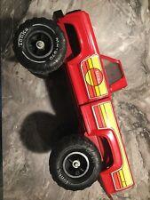 Vintage Mighty Tonka 4x4 Pick-up Truck MR-970 Red Graphics Hi Boy