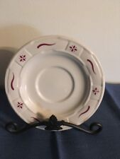 Longaberger Saucer - East Liverpool Ohio - Made in Usa