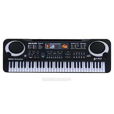 61 Keys Digital Music Electronic Keyboard Key Board Electric Piano EU Xmas Gift