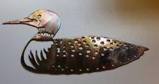 Loon Floating Metal Wall Art