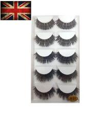 New Mink 5 Pairs  Natural Thick False Fake Eyelashes Eye Lashes Makeup Extension