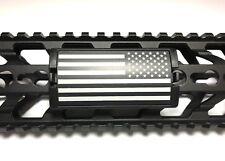 United States Flag, Stars Left, Black Retainer - KeyLok/KeyMod/M-LOK