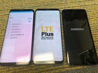 Samsung Galaxy S8 SM-G950U1 - 64GB - Black (Unlocked) 9/10 Heavy Burn Image