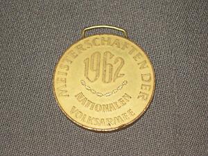 DDR Nva Deporte Campeonato 1962 Oro Medalla