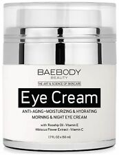 Baebody Eye Cream Rosehip Hibiscus for Appearance of Fine Lines Wrinkles Dark...