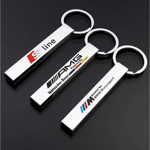 HOT Car Keychain Key Ring For BMW M Series Sport Metal Keyring New