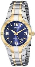 Casio Para Hombre Edifice Cuarzo Reloj de 100m de dos tonos de acero inoxidable EF106SG-2A