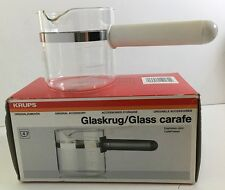 Krups 027/A-70 Replacement Espresso Mini Glass Carafe CafePresso White