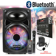 "CHOICE Fenton FPS Active Bluetooth Portable PA System Speaker 12"" 15"" 250-350W"