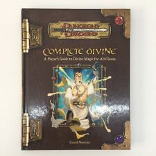DUNGEONS & DRAGONS COMPLETE DIVINE HARDBACK BOOK RPG WOTC D&D (2004)