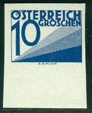 Österreich 1925 Portomarke Nr. 139 UR ungezähnt ** geprüft BPP