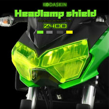 ABS Plastic Motorcycle Front Headlight Lens Protection Cover for Kawasaki Z400