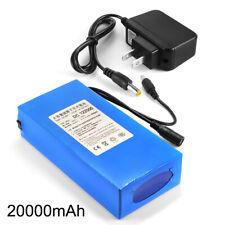 12V 20000mAh Super Rechargeable Li-ion Battery Pack+Charger CCTV Light LD1879