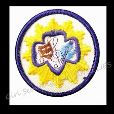 THE ARTS Sr. Girl Scout Interest Patch 1963 NEW Badge RARE Collectors GIFT
