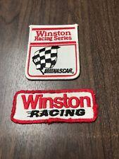 Vintage Winston Racing NASCAR Uniform Patches