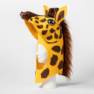 Hyde and Eek Boutique Adult Giraffe Head Costume Accessory - One Size Fits Most