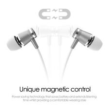 Wireless Bluetooth HEADPHONE In Ear with APTX Clear Sound Aluminium Silver