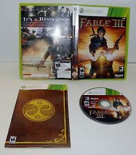 Fable III  Xbox 360 Complete Role playing