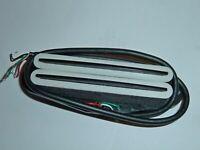 Dual Rail Humbucker Hotrails Pickup For Stratocaster White colour
