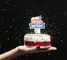Flashing Cake Topper Suck UK Happy Birthday Led Kuchen- Tortendeko Las Vegas