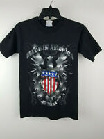 Toby Keith T-Shirt Tee Size Small Made in America Concert Tour 2011 Black Used