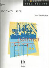 Monkey Bars Reed Burkholder Sheet Music 2004