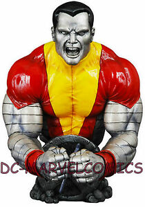 MARVEL UNIVERSE RARE #0 COLOSSUS ASTONISHING  BUST STATUE Wizard EXCLUSIVE X-MEN