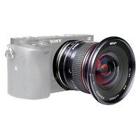 MK 12mm F2.8 Manual Wide Angle Lens for Sony E Mount NEX 5 7 A6000 A6300 A5100