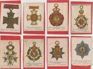 God.Phillips 1915 SILKS Set 24 Orders of Chivalry (S32 )