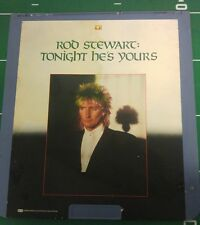 ROD STEWART TONIGHT HE'S YOURS. VIDEO. DISC 1981 TINA TURNER! CED
