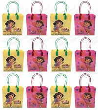 Nickelodeon Dora the Explorer Party Favor Supplies Goody Loot Gift Bags [12ct]