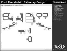WOOD GRAIN DASH KIT FOR FORD THUNDERBIRD 1994-1997