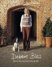 Debbie Bliss Blue Faced Leicester DK Book  12 designs