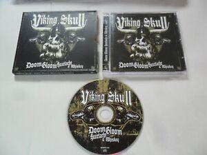 Viking Skull - Doom Gloom Heartache & Whiskey (CD 2008) Hard Rock
