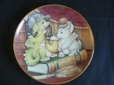COLLECTIBLE WORLD STUDIO POCKET DRAGONS 8 INCH PLATE 'ELEMENTARY MY DEAR'