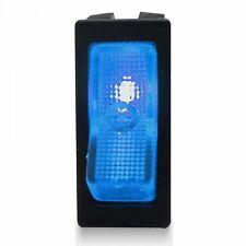 Illuminated Rocker Switch 1 - Blue 20a/12v