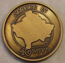 Kosovo Service Veteran Combined / Joint Military Challenge Coin