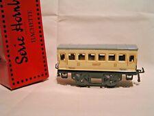 TRAINS HORNBY/HACHETTE ech/scale O 1/43,5- VOITURE VOYAGEURS 2è CLASSE + Boîte
