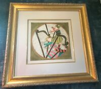 BOULANGER GRACIELA  RODO 'HARPS' LITHOGRAPH SIGNED  NUMBERED AND FRAMED
