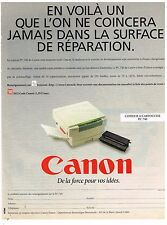 Publicité Advertising 1996 Le Copieur PC 740 de Canon