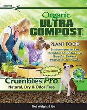 Compost Crumbles Pro 10lb (Enriched Organic Soil Conditioner)