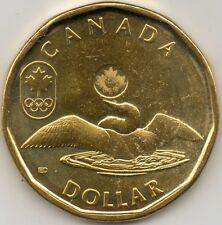 2012 Canada Lucky Loonie One Dollar Coin. (UNC.)