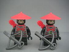 Lego Minifigs Figurines Ninjago 2 éclaireurs neufs / 2 scouts New / Set 70505