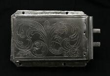original antikes Schrankschloss Möbelschloss Barock aus Eisen ohne Schlüssel