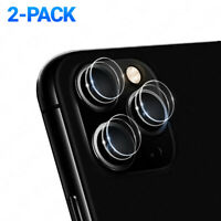 2-Pack Camera Lens Tempered Glass Protector Back For iPhone 11 / Pro Max X XS XR