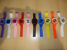 Silikon Uhr Armbanduhr Damen Herren Sport Armband Uhren trend watch viele Farben