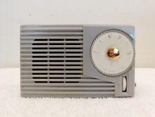VINTAGE OLD HITACHI ATOMIC MID CENTURY JET AGE ANTIQUE RETRO TRANSISTOR RADIO