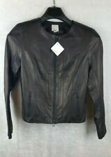 Halogen SP Black Leather Jacket NWT/Nordstrom