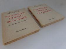 Connaissance sensuelle de l'homme & de la femme 2 volumes // Noël Lamare // 1962