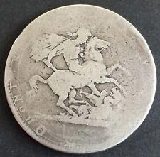 1819 CROWN - GEORGE III BRITISH SILVER COIN